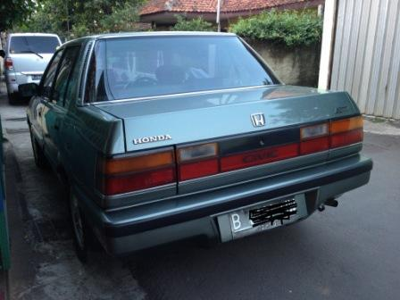 Dijual Honda Civic Wonder tahun 1987