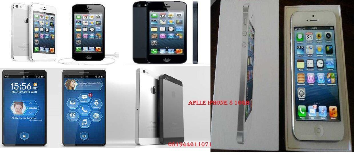 New jual apple iphone:5 16gb baru msh kemasan tersegel gsm.100% asli original
