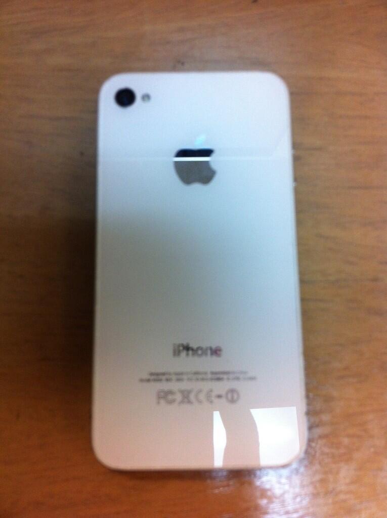 iPhone 4 16GB White FU Fullset (2nd)
