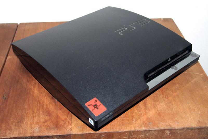jual PS 3 Slim 160GB Jailbreak