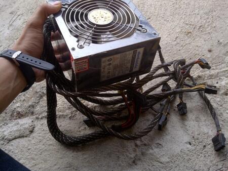 PowerSupply Simbadda 450 W Pure
