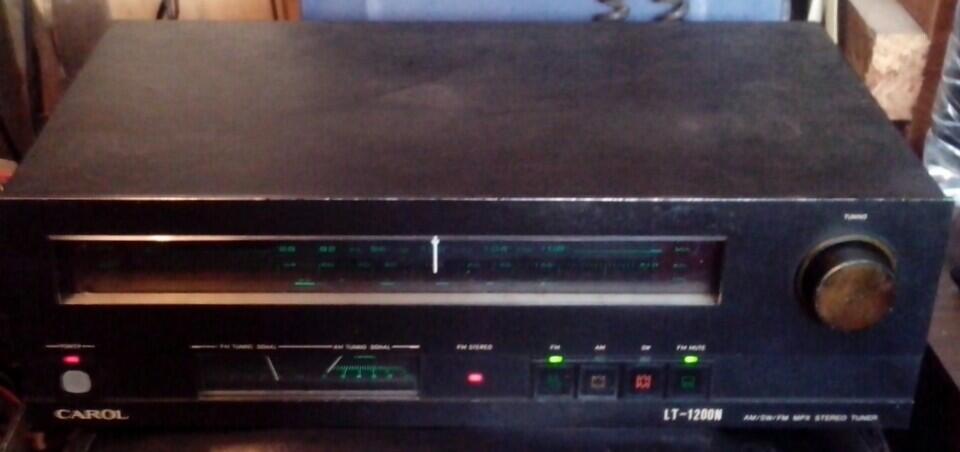 Tuner FM/AM/SW, Carol LT-1200N