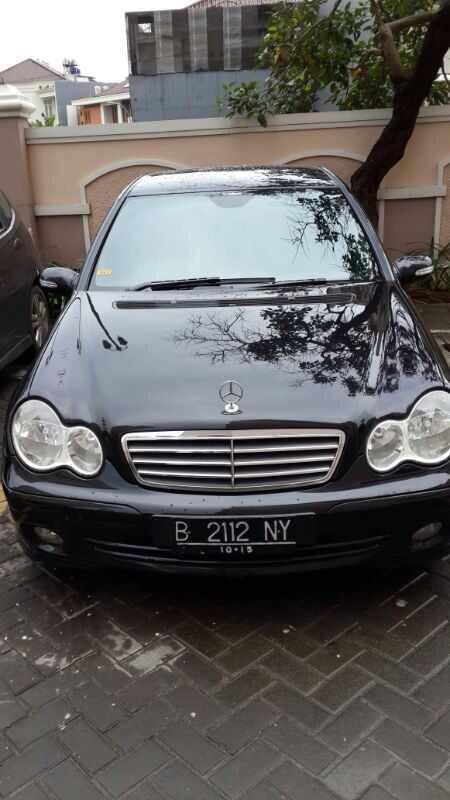 [otomotif] MERCY C240 SPORT BLACK 2005