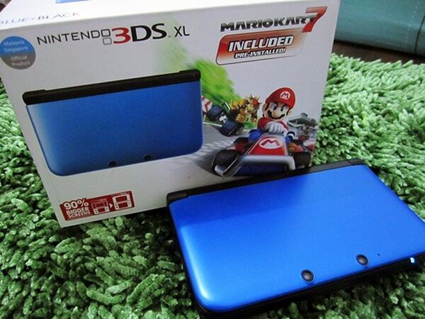 WTS Nintendo 3DS XL Mario Kart 7 Bundling (2nd) by Gameplay Indonesia