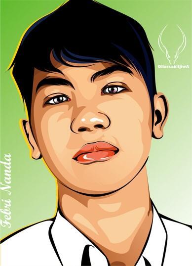 Line Art Wajah : Terjual jasa desain wpap vector wajah popart