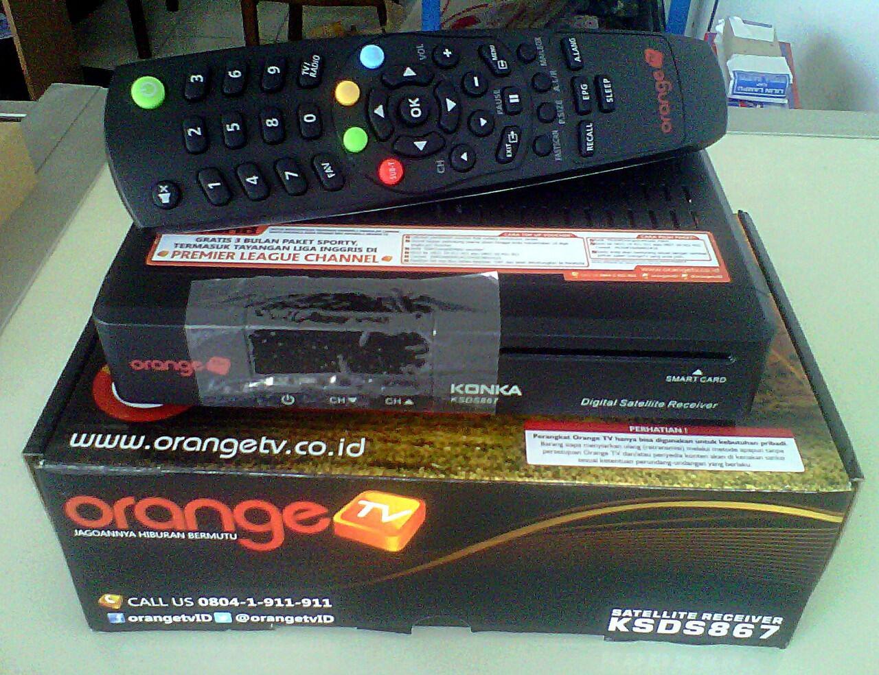 Dekoder OrangeTv C Band