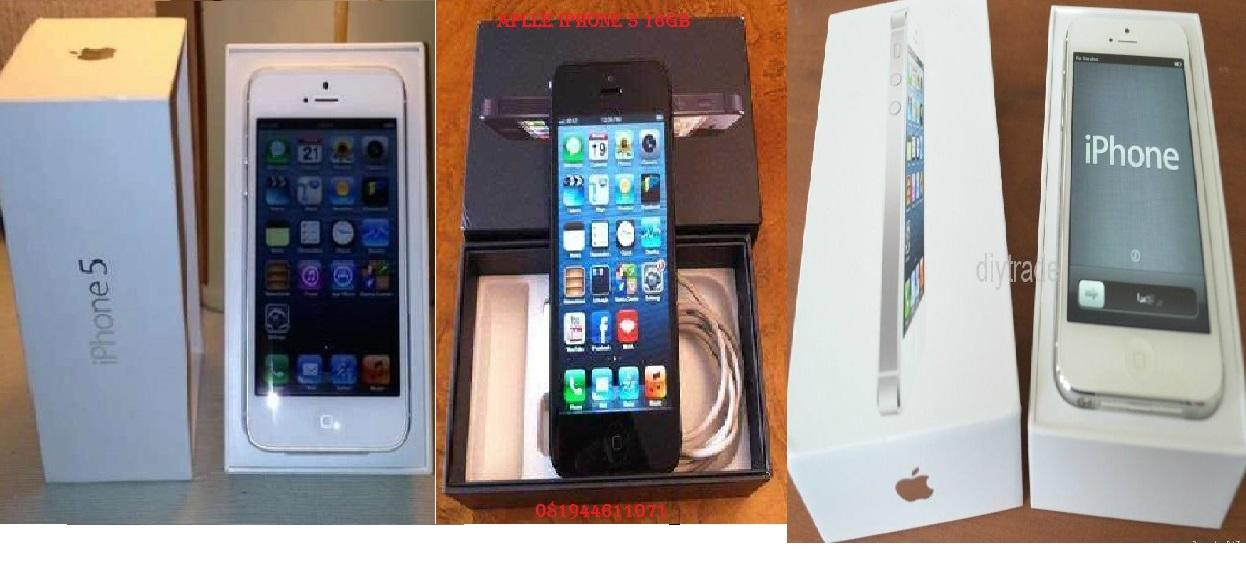 New jual apple iphone:5 16gb baru msh kemasan tersegel gsm.100% asli original