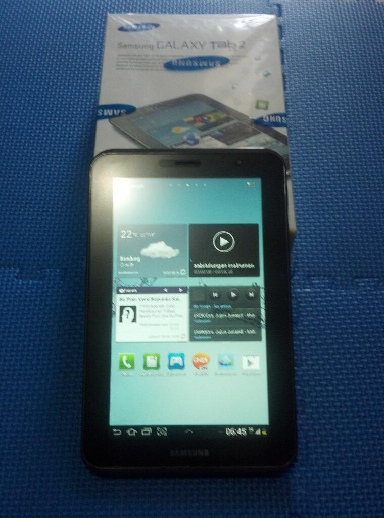 Galaxy Tab 2 7 Inch P3100 Mulusss...lusss...lusss....