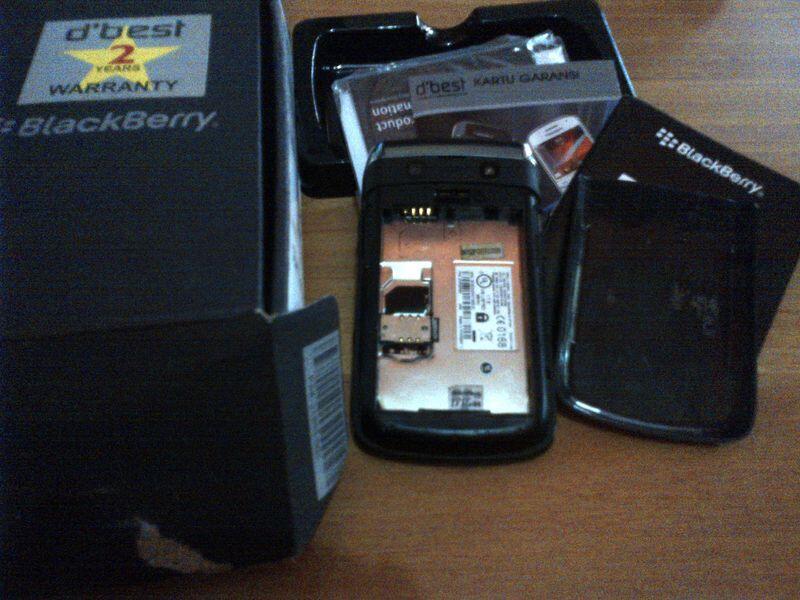 Dijual Blackberry 9700 onyx 1 Matot / Rusak / Mati total [Bandung]