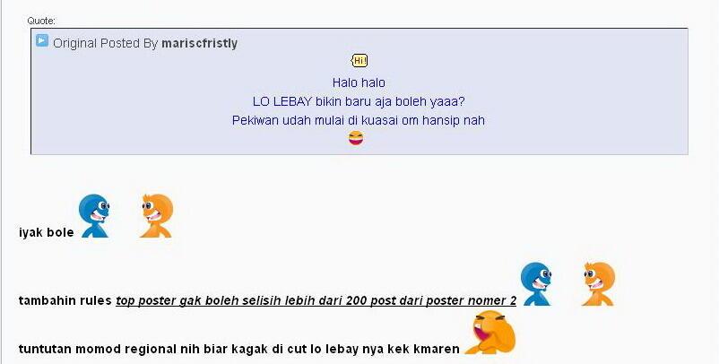 [RKT Lounge] - LO LEBAY !!! senin kamis P'Day !!! - Part 878