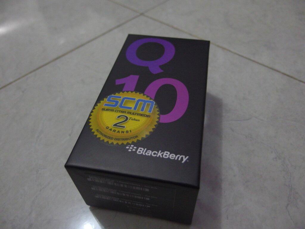 BNIB Blackberry Q10 White Garansi Resmi SCM Di jamin Termurah Sekaskus+Free ongkir