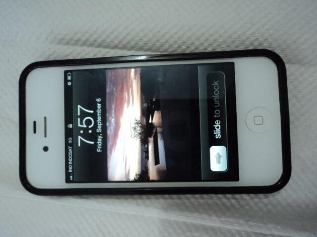 iphone4 white batangan FU