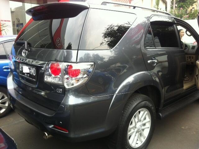 Toyota Fortuner 2012 G Kemang