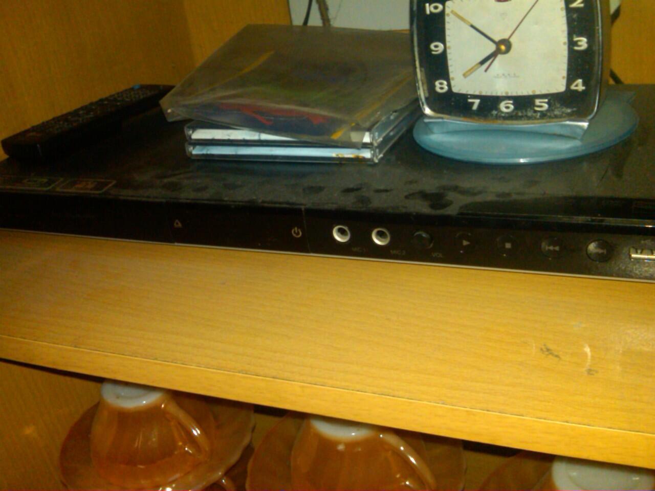 DVD Player LG DV586 ( Mulus , Like New , Jarang dipake ) LKP