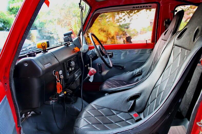 Jimny Trepes SJ80 tahun '82 Asli full Modif