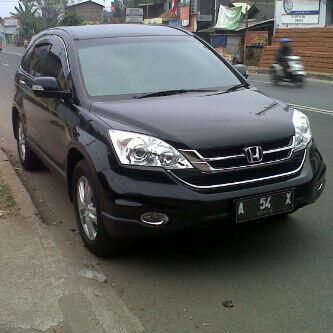 Honda CRV A/T 2011 BLACK