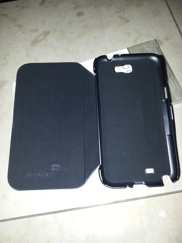 Flip cover anymode for Note II ada 2 150rb