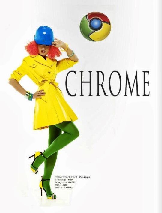 ~๑๑.WOW.. Model Cantik Didandani Seperti Internet Browser [CEKIDOT].๑๑~