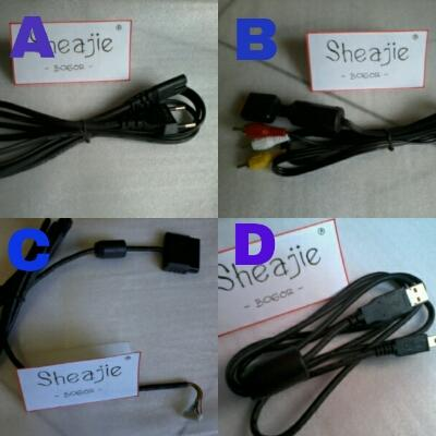 Aksesoris ps2,ps3(stik ps3 wireless,kabel,stik ps2 ori mesin refurbish)dibogor