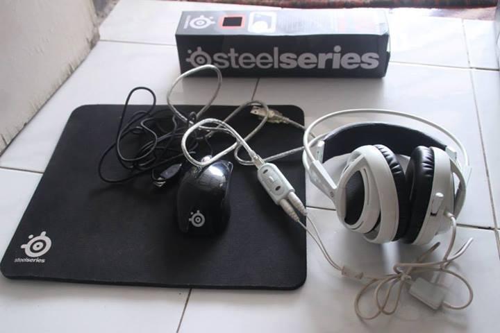 Steelseries , Headset , Mouse , Sound Card , + Bonus
