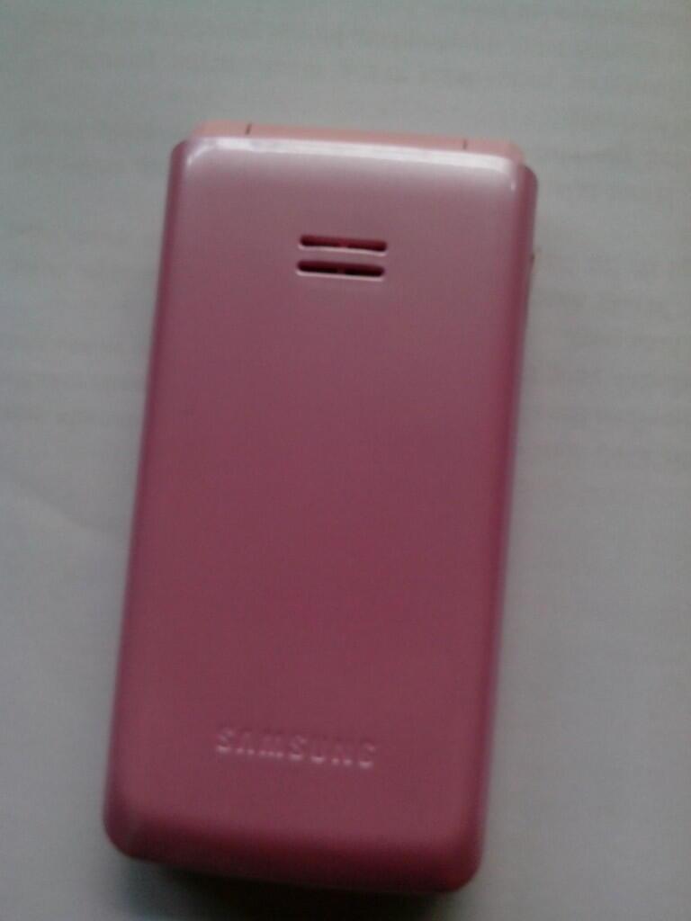 Samsung Bronx Pink Mulus 99% Mantap Lancar Jaya Baterai Awet No Drop
