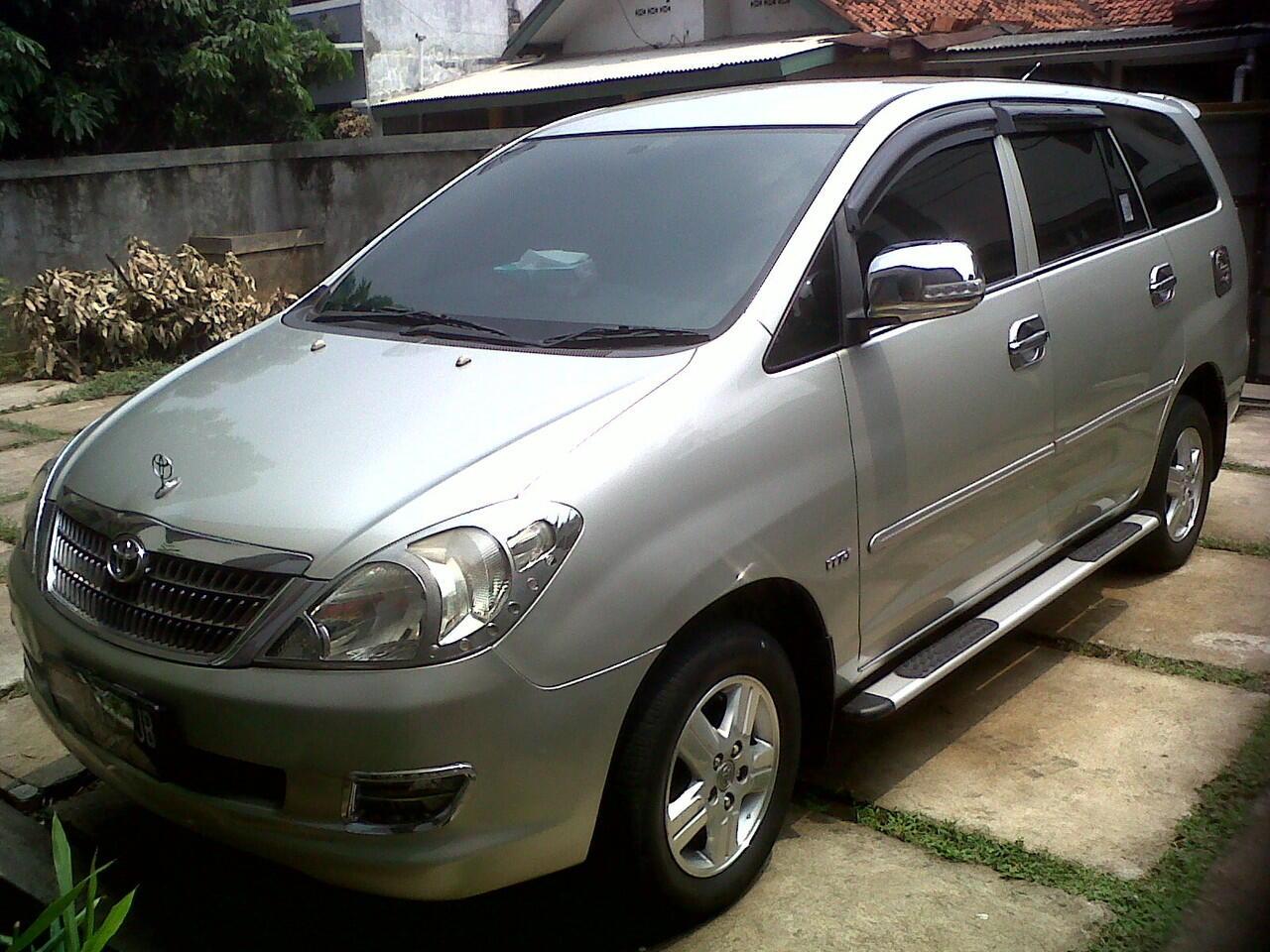 Dijual Mobil Kijang Innova Tahun 2007 (Siap Pakai)