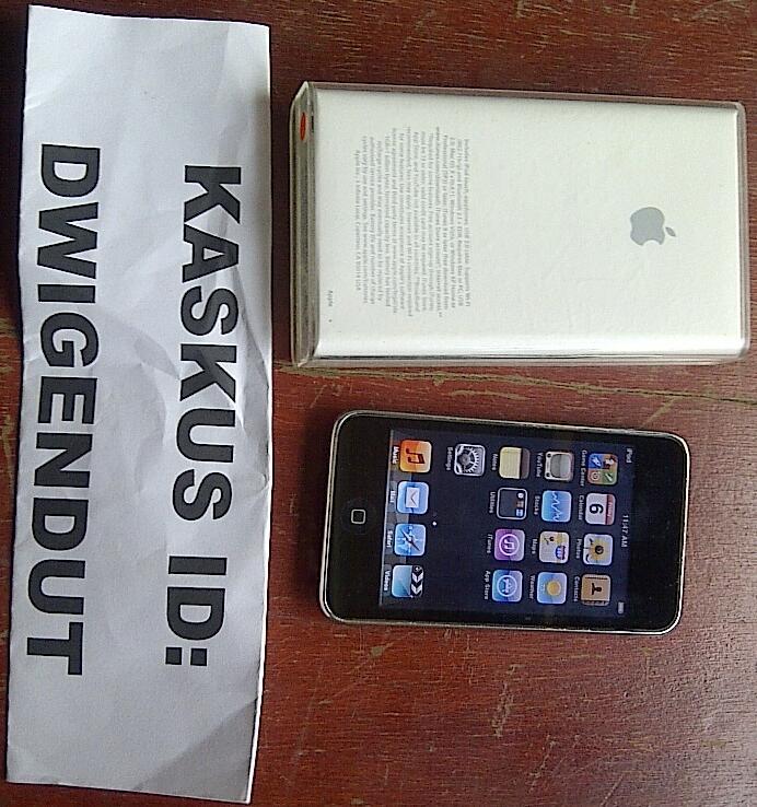 For Sale Ipod Touch 3rd Gen 8 GB, murah aja gan!