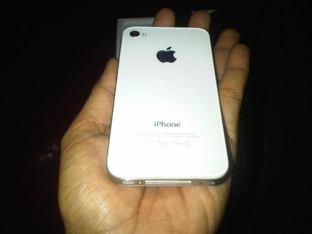 iphone 4S 16GB White FU MULUSS