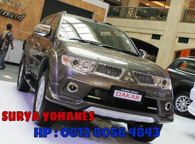 Pajero Sport Dakar Limited AT Promo Dealer Mitsubishi Pondok Indah