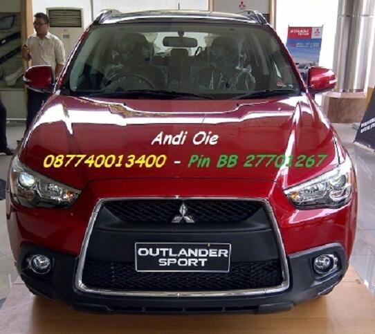 Jual New Mitsubishi Oulander Sport PX 2013
