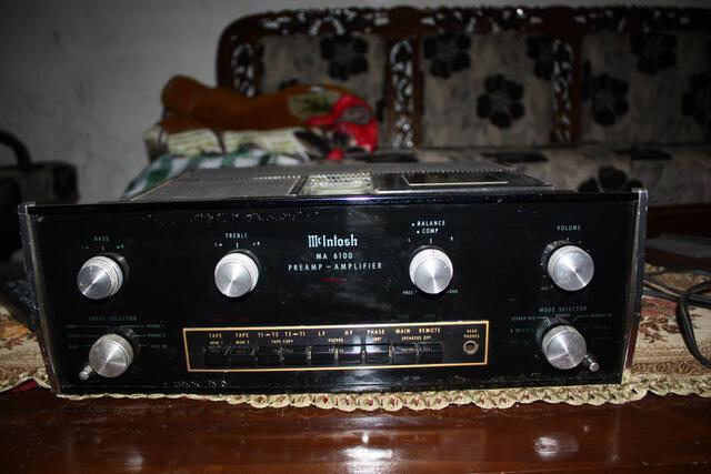 dijual MCINTOSH pre amplifier MA6100