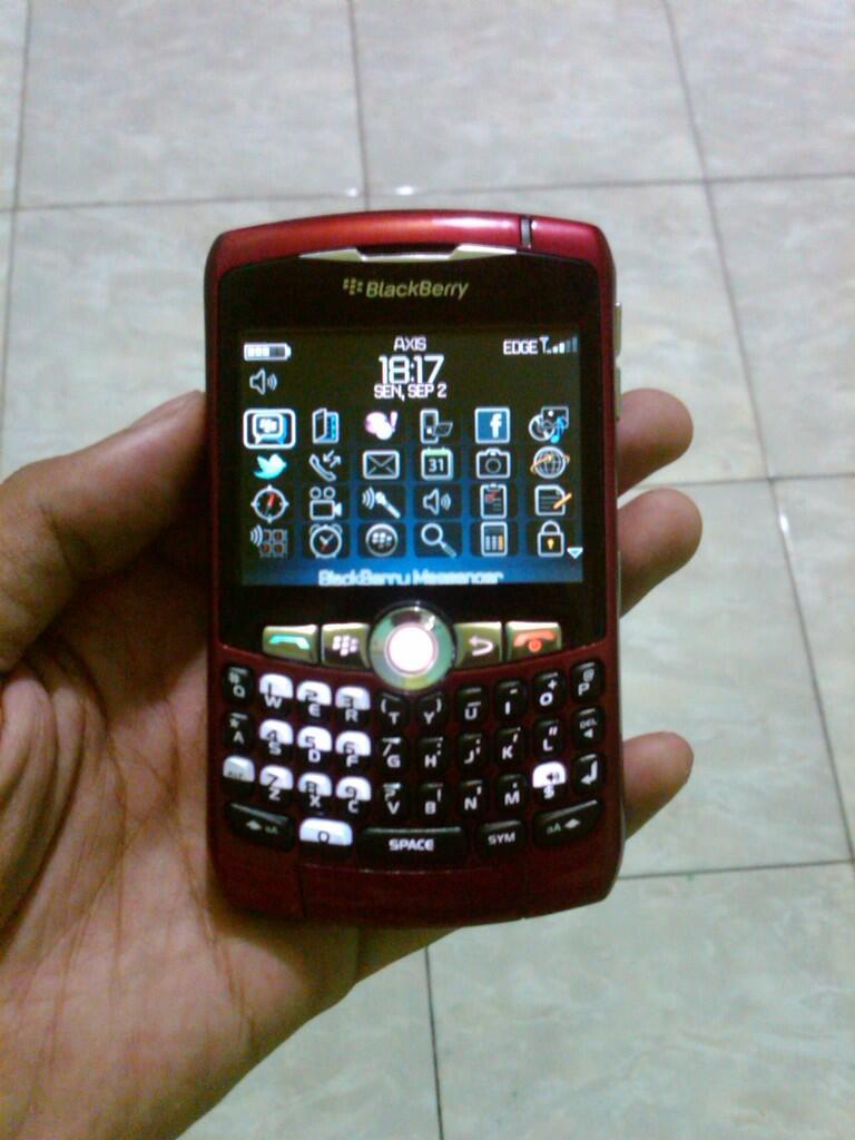 bb 8310 curve merah