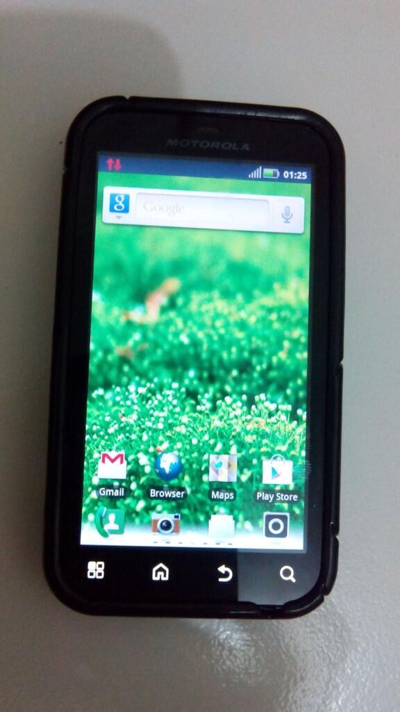 Jual Motorola Defy MB525 - RED Lens....