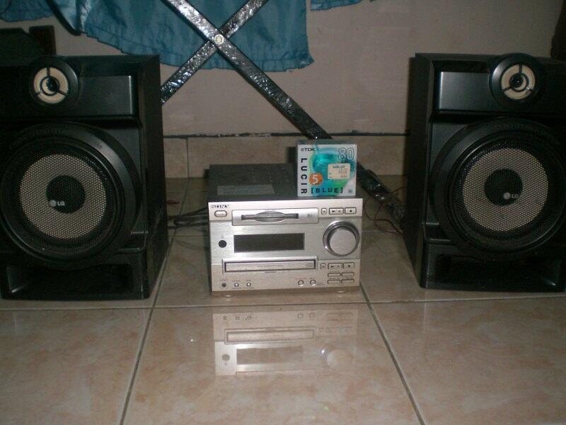 Jual Murah Sony Mini Hi-Fi MD CD Player asli built up dari Jepang