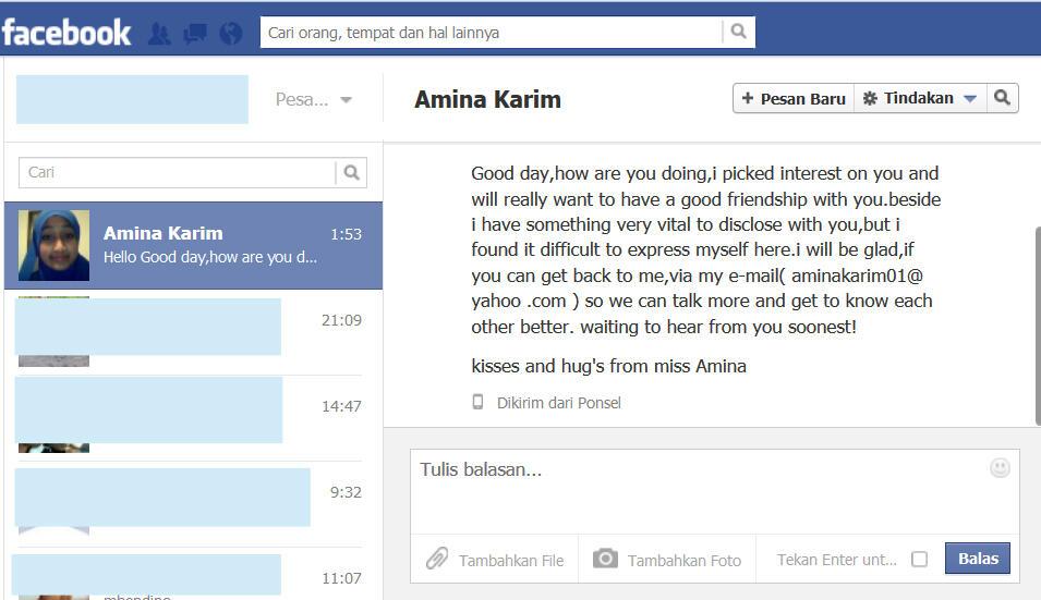 Apa Balasan Agan Jika Menerima Inbox Seperti Ini?