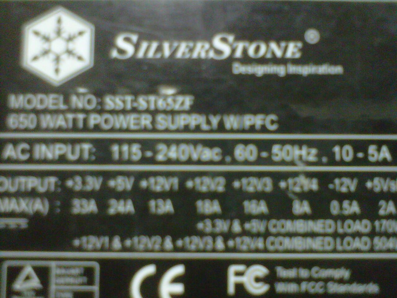 SILVERSTONE 650WATT