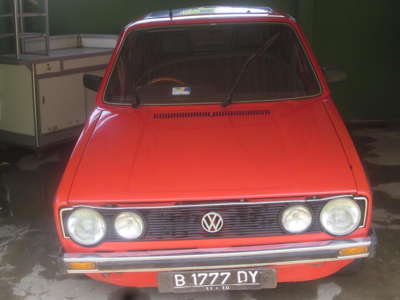 Di Jual VW GOLF KLASIK 1978