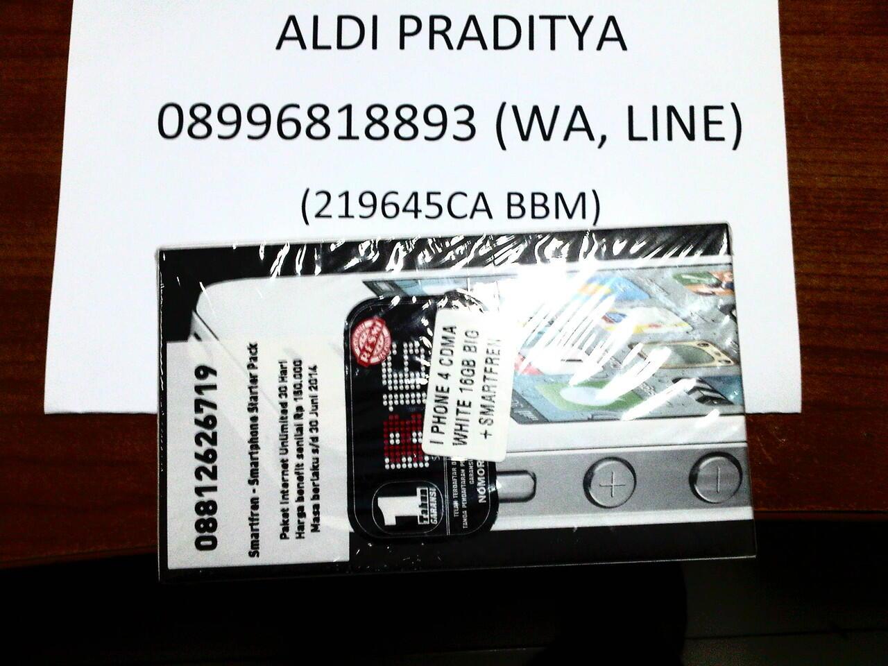 Iphone CDMA 16gb garansi big murah segel