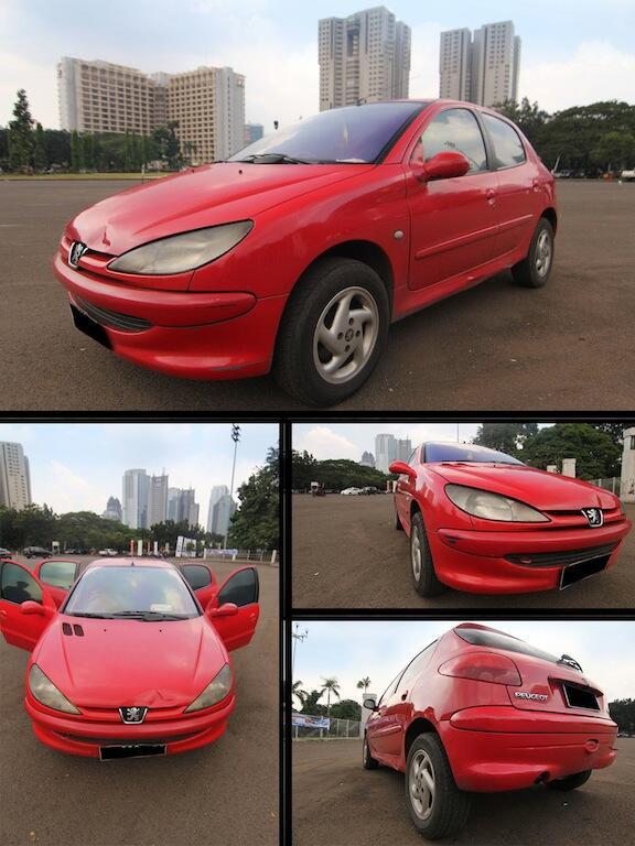 BU: Mobil Peugeot 206