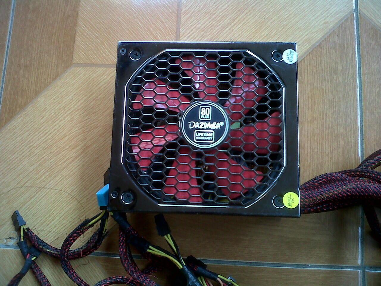 jual power supply dazumba 600watt, venom madara 650watt murahh