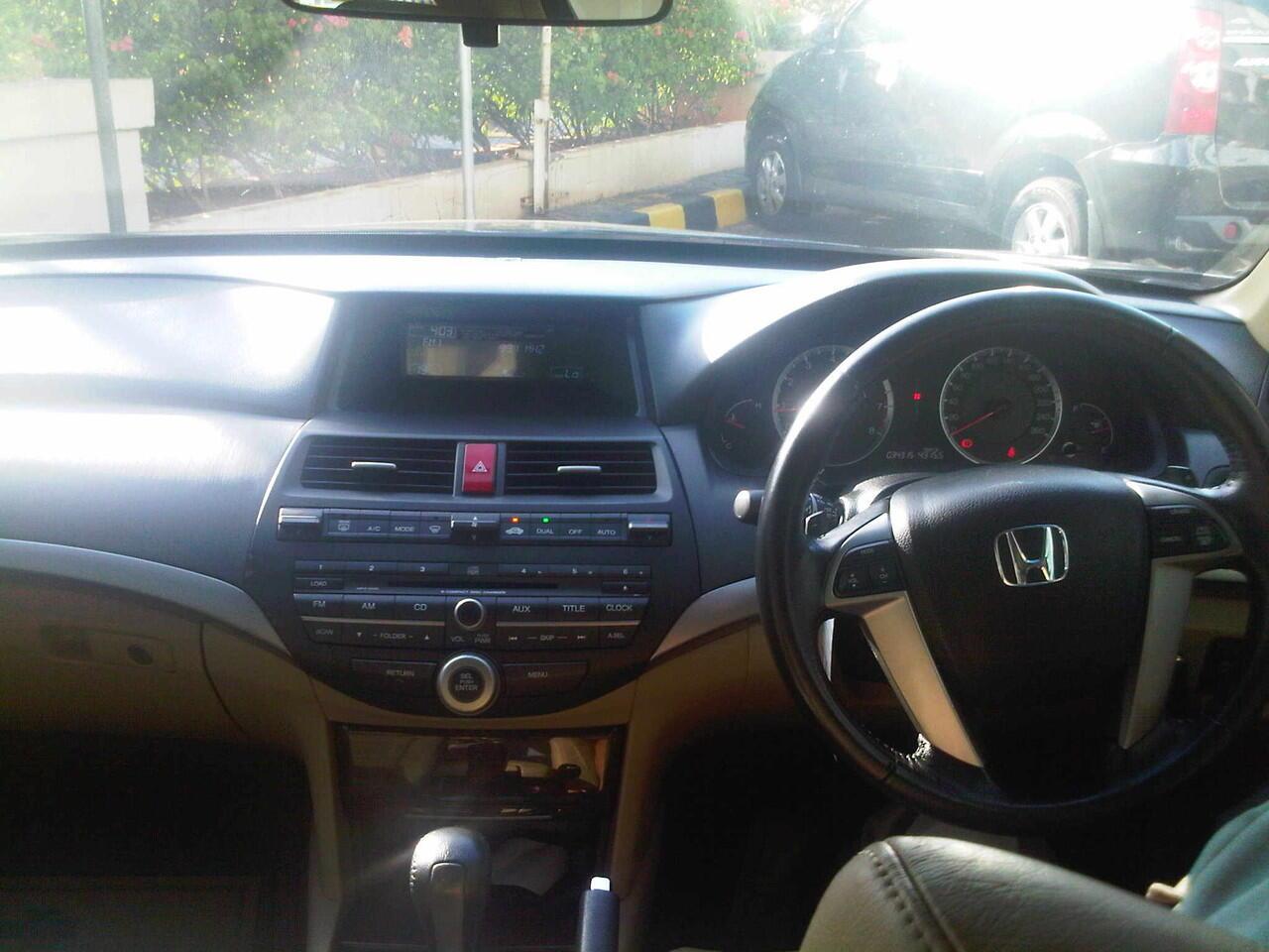 [WTS] Honda Accord VTIL 2008 AT Hitam !