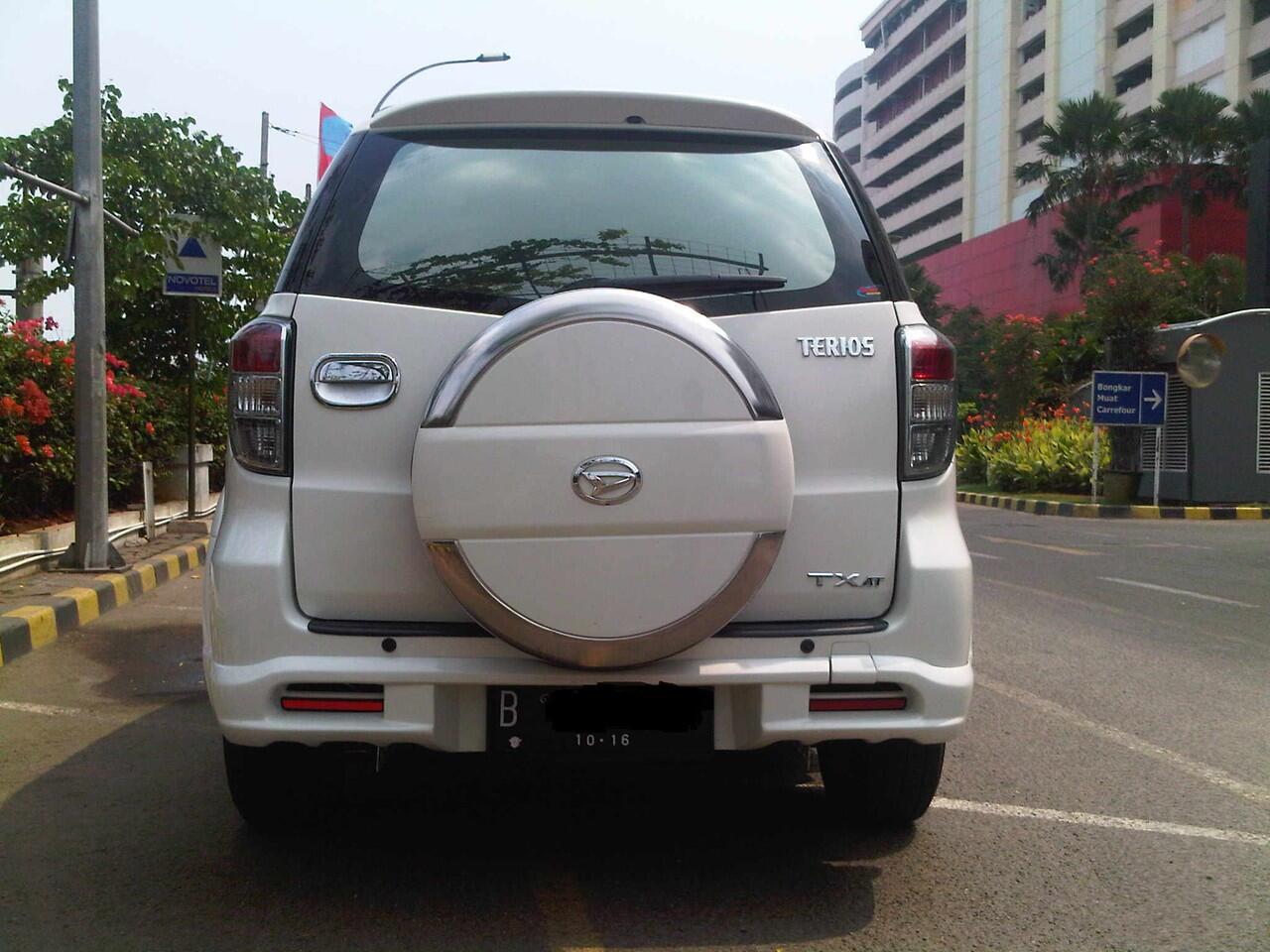 [WTS] Daihatsu Terios TX Adventure 2011 Putih A/T Like New