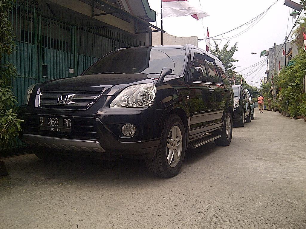Honda CRV 2.4 black mulus