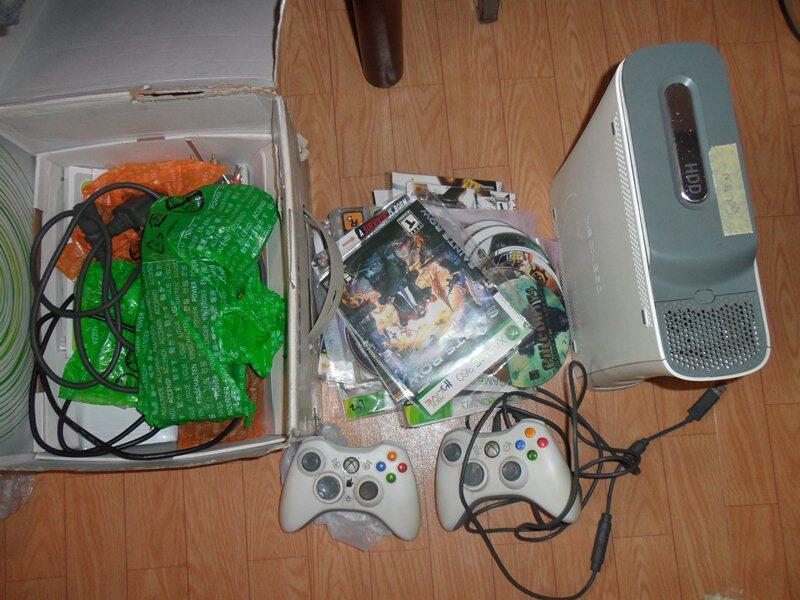 Xbox 360 Jasper RGH/JTAG LT3 2Stik Kaset Banyak Lengkap Murah Aja, Bisa TT Bandung