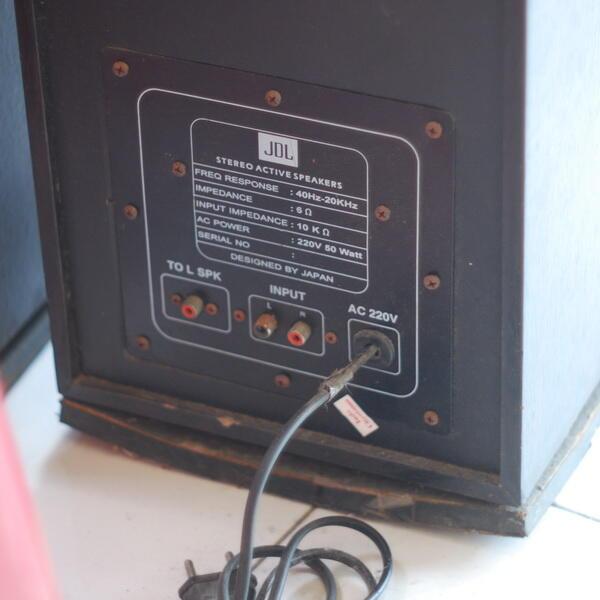 JDL Stereo Active Speaker 220V, COD Semarang!