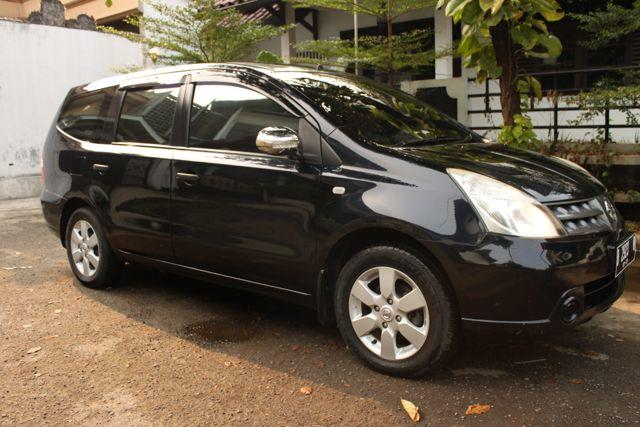 nissan Gand Livina XV AT 1.5 2007. warna hitam. interior ultimate. mantap!!