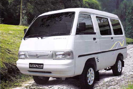 SUZUKI CARRY REAL VAN 100% TERBARU 2013