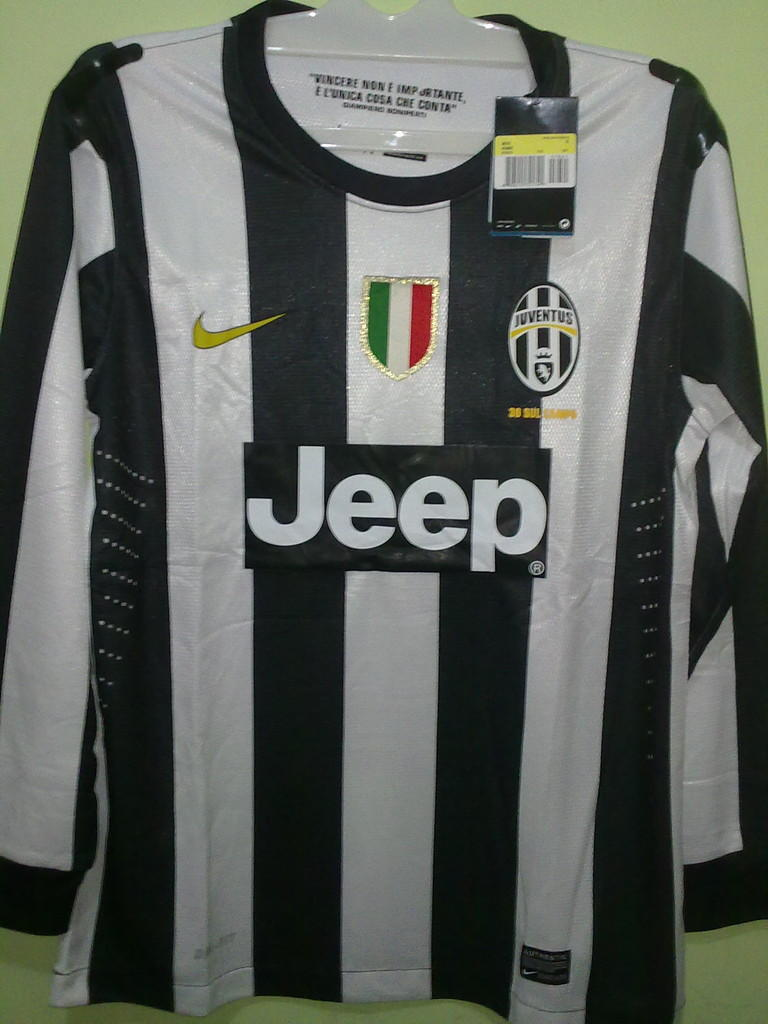 Jersey Grade Ori Juventus Home 2012/2013 #8 Marchisio Longsleeve Player Issue
