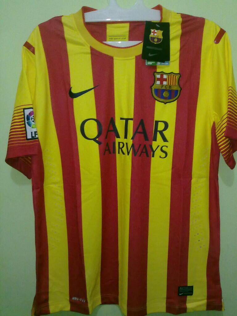 Jersey Grade Ori Barcelona Away 2013/2014