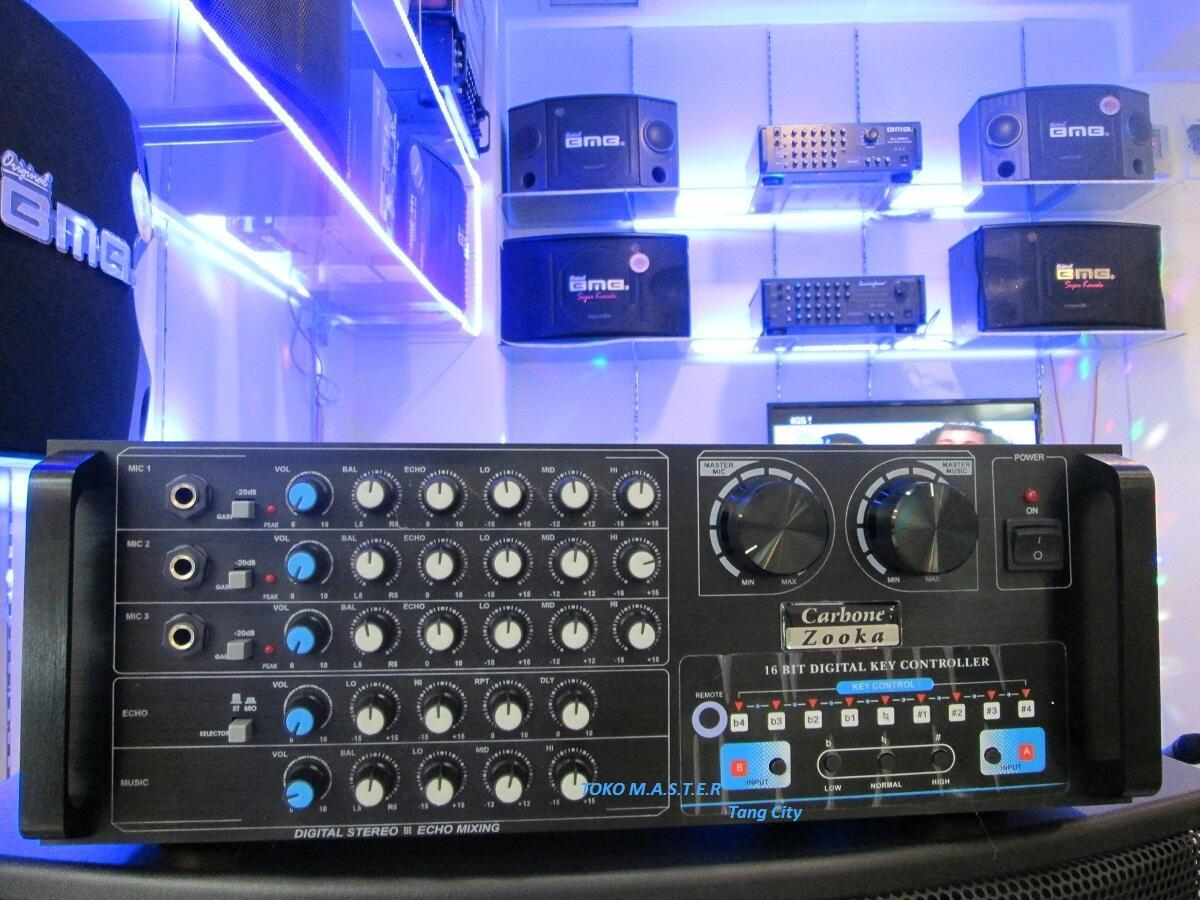 Mixer Amplifier Karaoke Carbon Zooka 6800